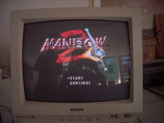 Manbow 2 - title screen