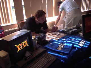 X-Tazy running on real hardware