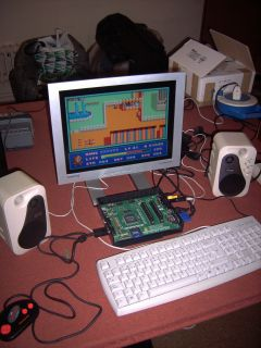 One Chip MSX running SD Snatcher