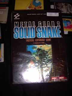 Second hand booth - Metal Gear 2: Solid Snake for 200 Euros